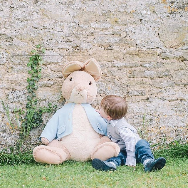 Happy Easter everyone! I hope that you all have a wonderful day. 🌿 The sun has risen over Oxfordshire, although we haven't ventured out yet (it's been a lazy morning in our pyjamas so far, croissants and cups of tea, and reading books in bed). We had a lovely day exploring the garden yesterday, Peter Rabbit in tow (it's Easter, after all, so a bunny seemed appropriate). ☕️ We're looking forward to lunch with extended family, an Easter egg hunt in the garden this afternoon, and maybe…