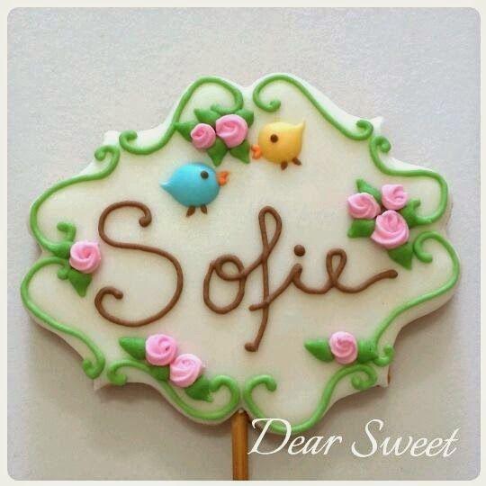 Cute cookie pattern - Monograma                                                                                                                                                                                 Mais