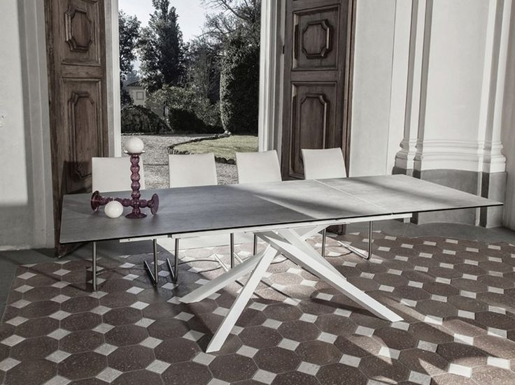Boogie Extensible Dining Table By Naos