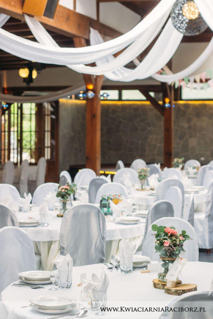 Strojenie sali na wesele boho ślub