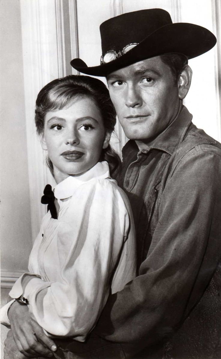 Judi Meredith with Earl Holliman in Hotel de Paree (1959-1960)