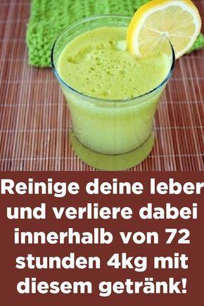 Miracle Detox Drink: Reinigen Sie Ihre Leber und verlieren Sie Gewicht in 72 Stunden