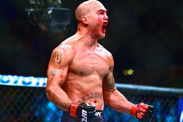 UFC 189 Results: Robbie Lawler Lifts New-Look UFC with Old-School Slugfest Robbie Lawler  #RobbieLawler