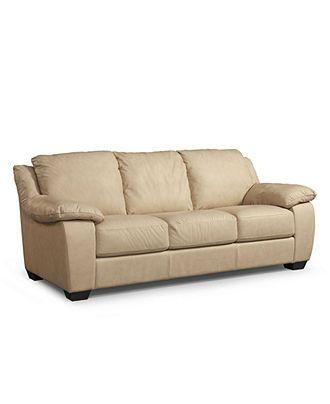 blair leather sofa 86 w x 38 d x 36 h sofas furniture