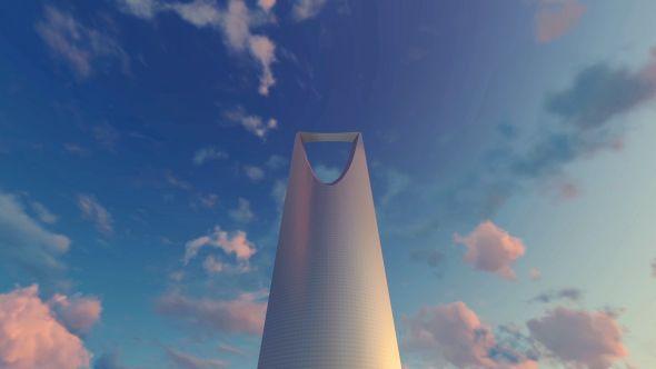 Kingdom Centre - Riyadh, Saudi Arabia -Sunset
