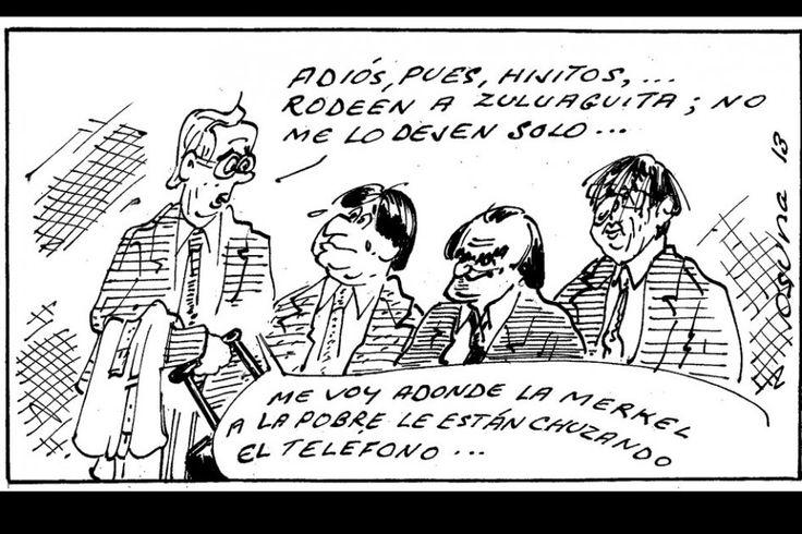 """""""Ungido el heredero"""", Osuna en El Espectador"""