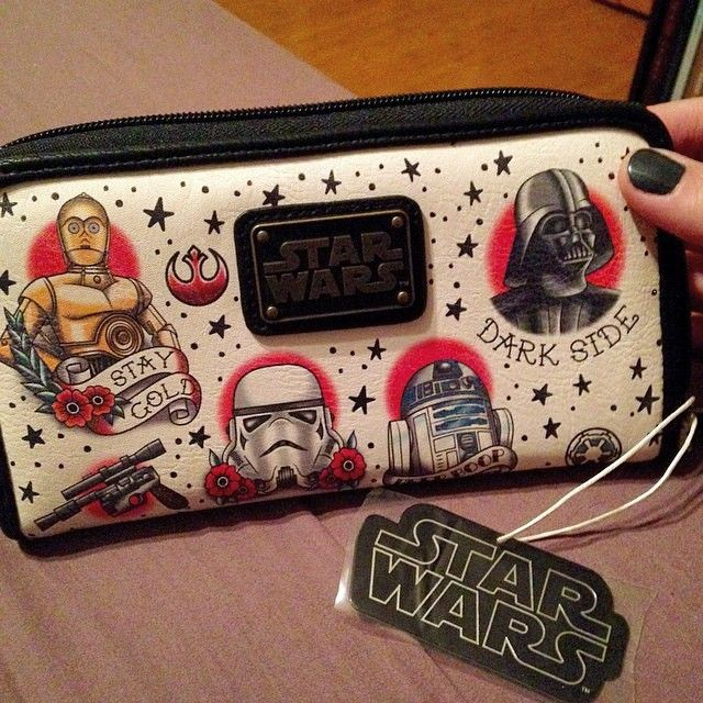 #loungefly x #starwars wallet ][ I'm not a big Star Wars fan, but I would buy this to honor the Star Wars holiday special.