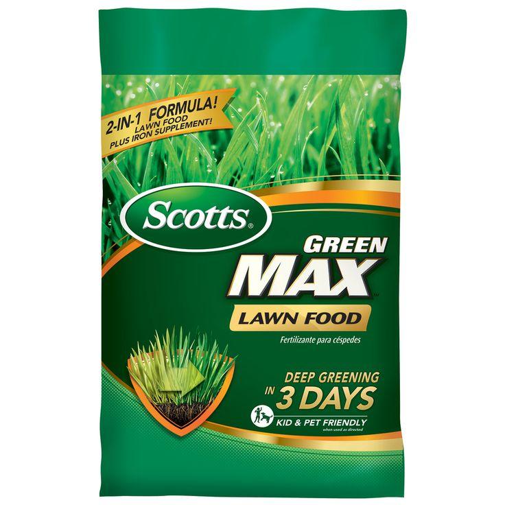 Scotts Green Max 16.9 Pound(S) Lawn Fertilizer (27 Percentage- 0 Percentage- 2 Percentage)