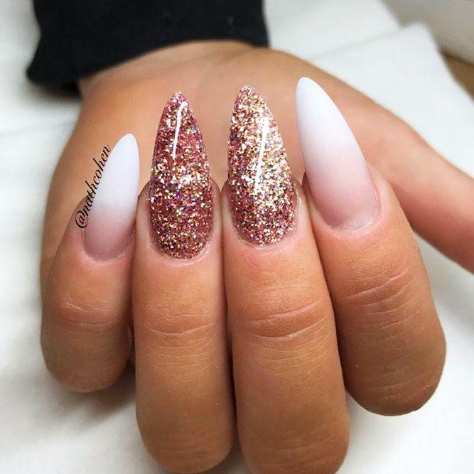 Nail Shapes | Almond nails designs, Classy nail designs ...