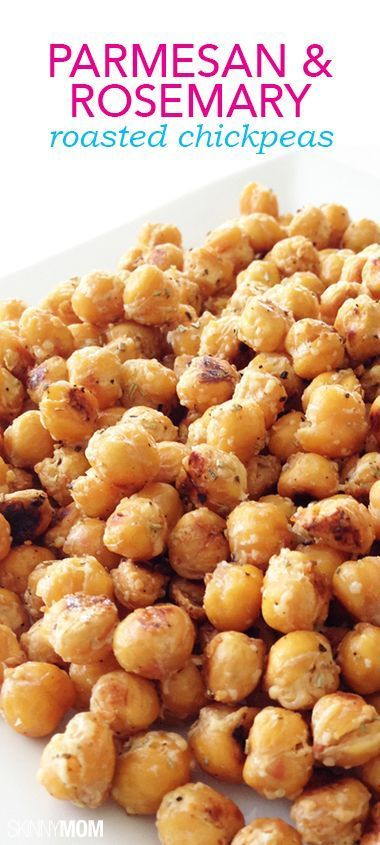 These tasty treats are super yummy and a perfect side dish for any occasion. Check out this parmesan and rosemary roasted chickpeas recipe from one of our partners.