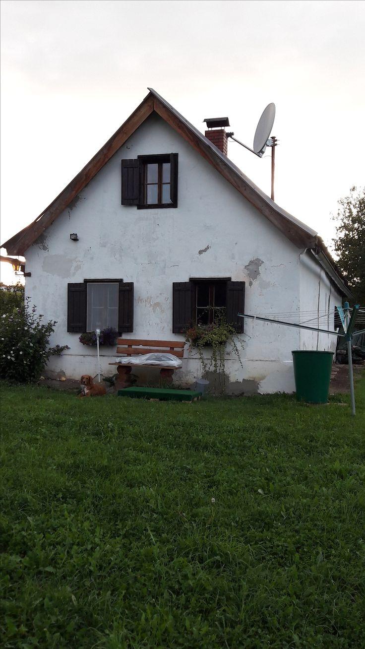 Das nette Häusl der Nachbarin Moni voll alleinstehend in der freien Natur