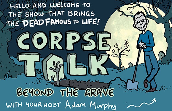 Corpse Talk: Beyond the Grave is available on the Blog of Awesome at www.thephoenixcomic.com/blog-of-awesome