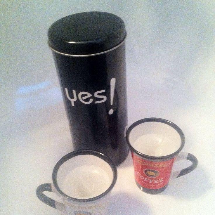Lot de 2 bougies artisanales Françaises , blanches, moulées dans des tasses a cafe, expresso . Etsy french