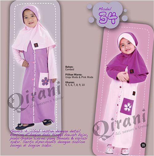 qirani kids model 34 hubungi 085732697004