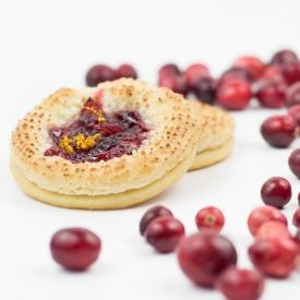 Cranberry Marzipan Cookies [southernfatty]