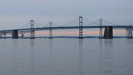 Chesapeake Bay Bridge viewed from Sandy Point State Park.jpg