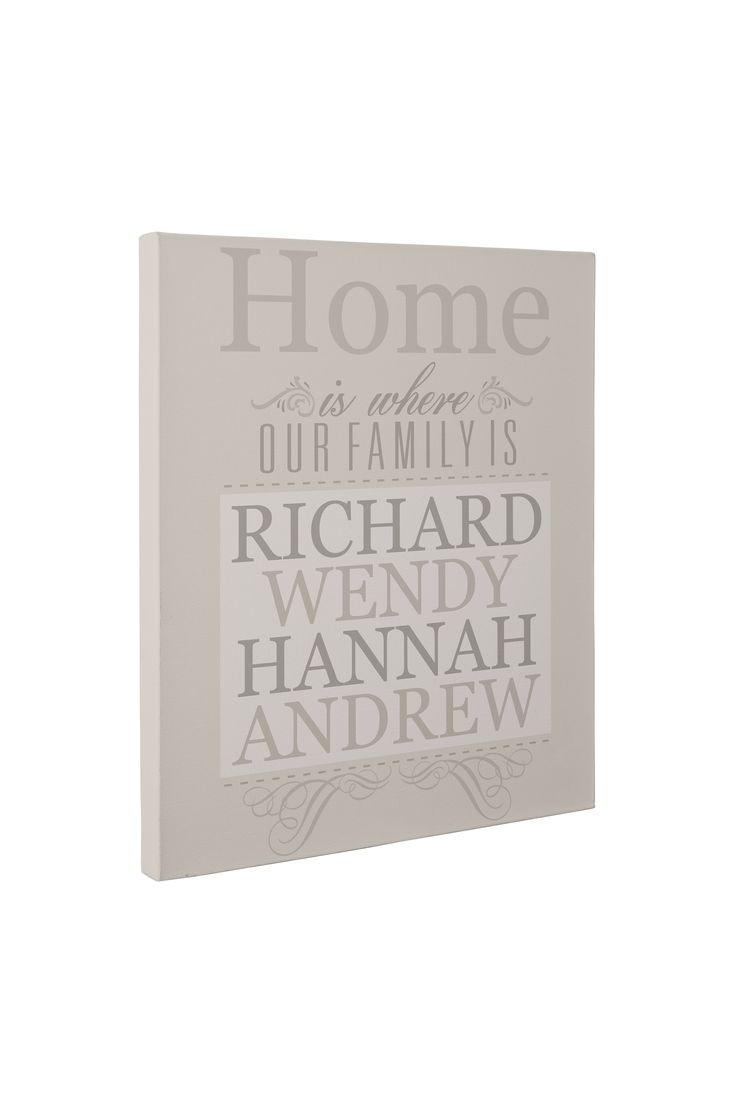 Buy this £10 personalised family name picture for your home at www.essexprintingservice.co.uk