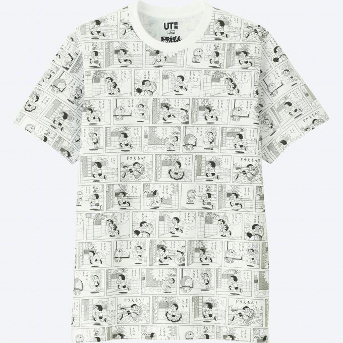 写真7 12 ユニクロより ドラえもんut 村上隆コラボ お花 を描いたカラフルなtシャツやぬいぐるみなど tシャツ ユニクロ ファッション