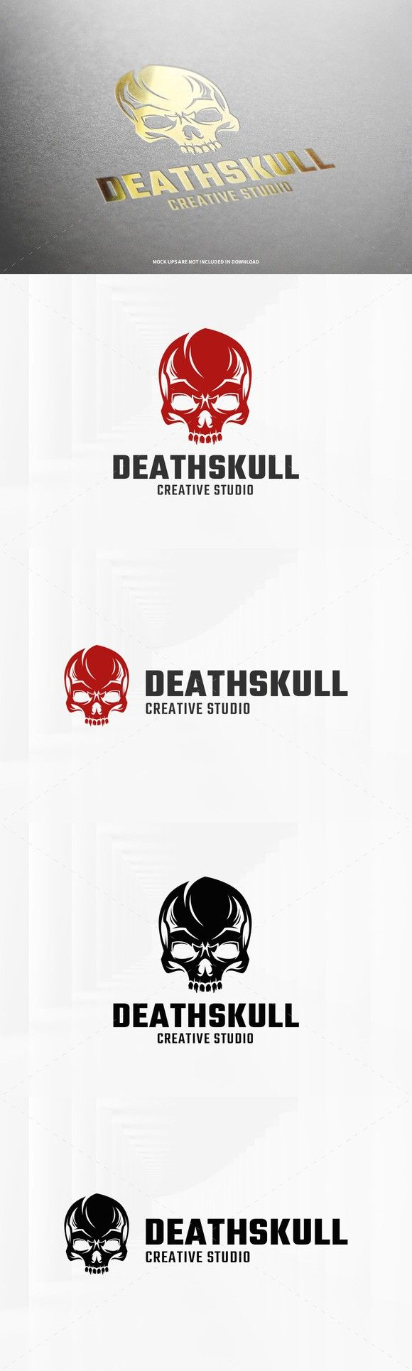 Death Skull Logo Template. Logo Templates. $29.00