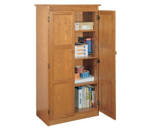 11 Best Oak Pantry Cabinet Images On Pinterest Storage Cabinets Storage Closets And Kitchen