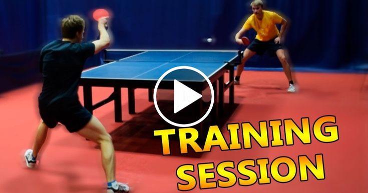 Table Tennis Training I Pongfinity Sport Report Videos Table Tennis Tennis Videos Ping Pong