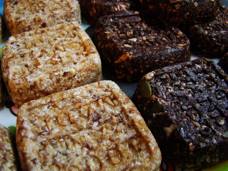 Datlové raw sušenky