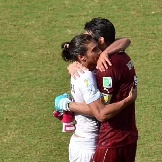 Buffon e Caceres, amici prima di tutto! ♡♥
