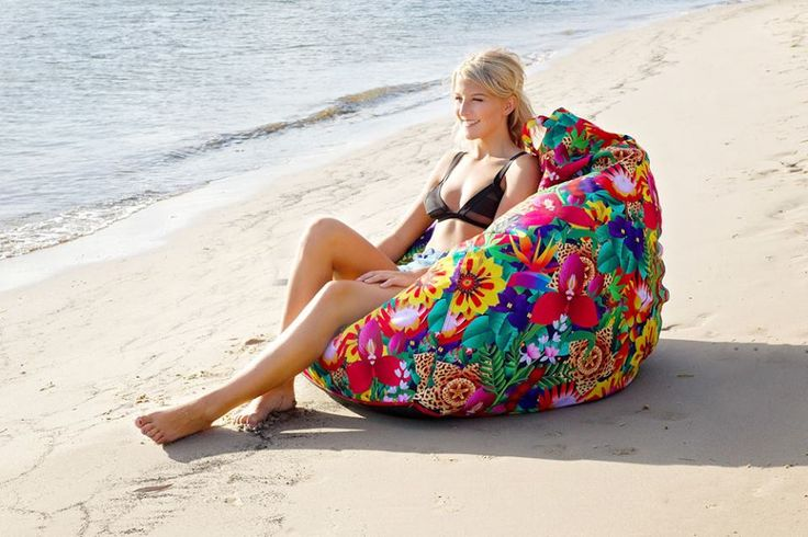 Spark beanbag: perfect choice for your indoor or outdoor interior design solutions! Make your home look brighter and more enjoyable: http://www.sunburstoutdoorliving.com/collections/beanbags/products/classic-beanbags-spark