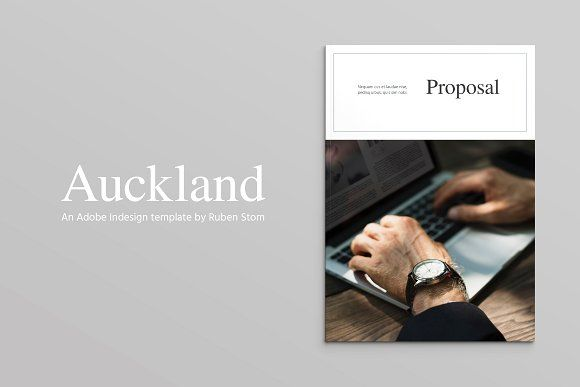 Auckland Proposal Pack by Ruben Stom on @creativemarket