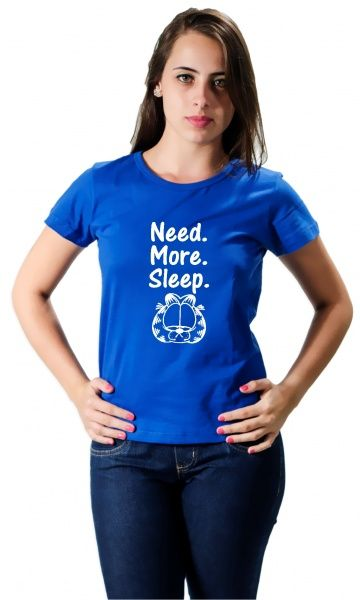 Camiseta - Need More Sleep - Camisetas Personalizadas,T-Shirt,Engraçadas | Camisetas Era Digital