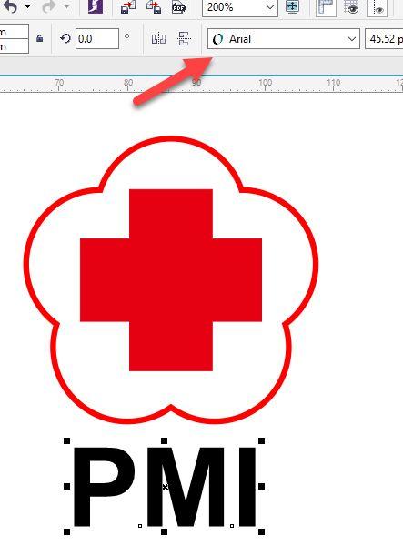 Tutorial Desain logo PMI - Gayeng