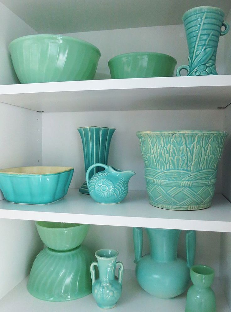 Jadeite Bowls and an egg stand.