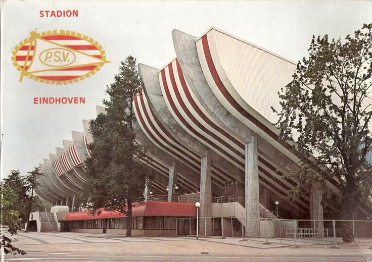 PSV stadion how it used to be