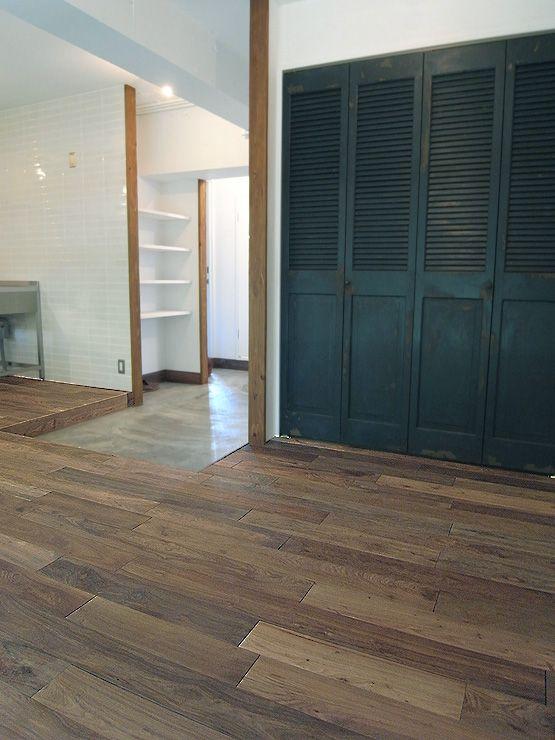 アジアンウォールナット無垢フローリング #Walnut #Flooring #Antique