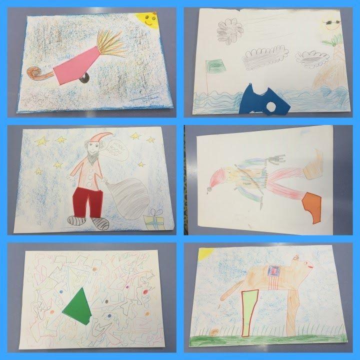 DIBUIX A PARTIR D'UN ELEMENT - Material: paper, colors, tisores, cola, cartolina o altres elements - Nivell: 2PRIM CI 2015/16 Escola Pia Balmes