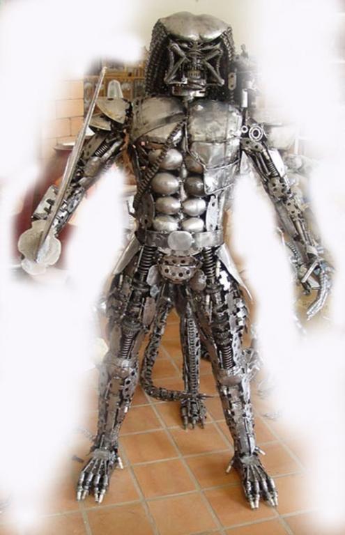 Rzeźba typu Alien Predator