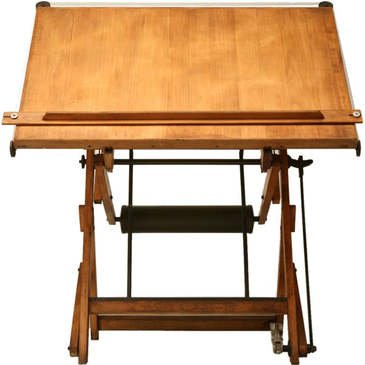 1930 Vintage French Architectu0027s Drafting Table This Is The Coolest Drafting  Table.