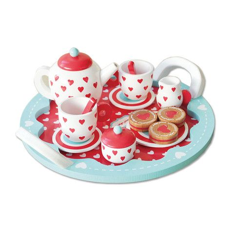 Hearts Tea Set - Available for Immediate Delivery