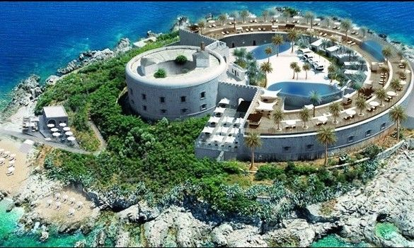 Blog: Mamula Island in Montenegro is to be turned into a luxury hotel resort.