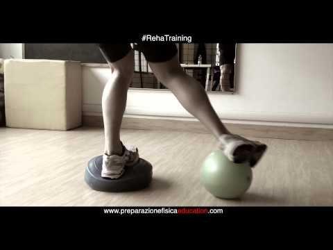 RehaTraining - Esercizi propriocettivi per lo sci - YouTube