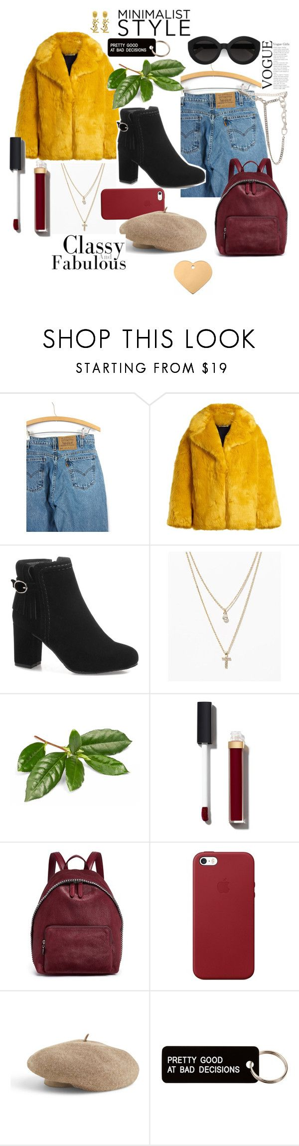"""ehgdsialrudhb"" by lmmtwin ❤ liked on Polyvore featuring Levi's, Diane Von Furstenberg, LOFT, Chanel, STELLA McCARTNEY, Apple, Carla Zampatti, Venus, Various Projects and Christian Dior"