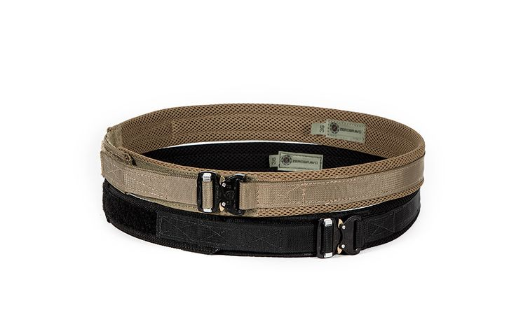 "The Alpha Belt by ZeroBravo is a slim and lightweight EDC belt featuring the ventilated, anti-microbial, moisture wicking mesh materials and a 1"" Cobra FM buckle from AustriAlpin. Price: $99.95"