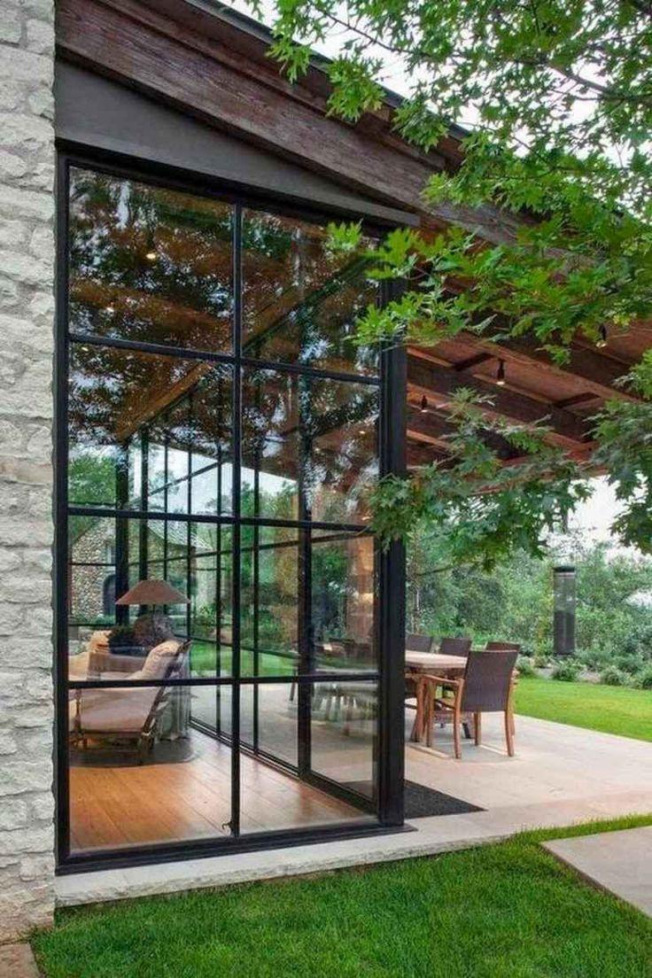 868 336 Exterior Home Design Ideas Remodel Pictures: 01 Cozy Sunroom Decor Ideas In 2020