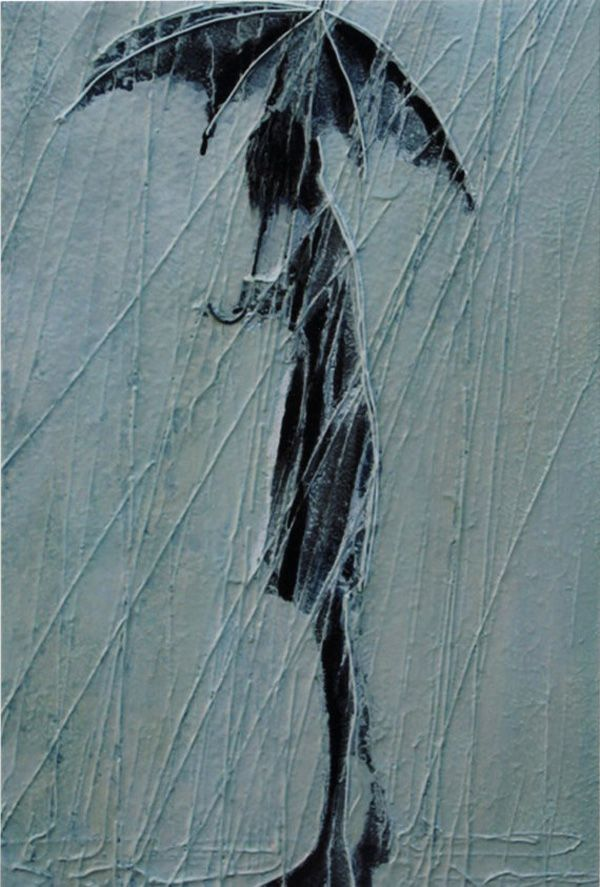 *Amazing Paintings by Igor Mudrov | Cuded Igor Mudrov is a Russia painter who currently lives in USA. Igor created a series of oil on canvas paintings depicting beauty of a particular subject – people walking in the rain.  <a href=