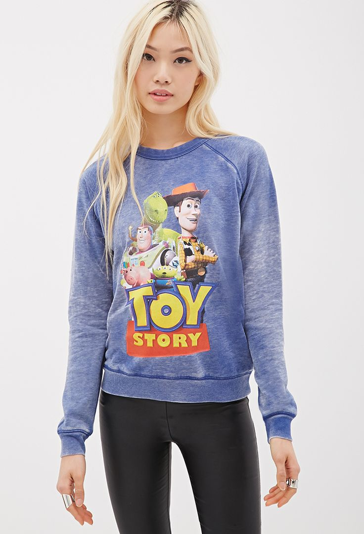 sweat toy story sweats tricot 2049257687 forever 21 eu my style pinterest mode. Black Bedroom Furniture Sets. Home Design Ideas