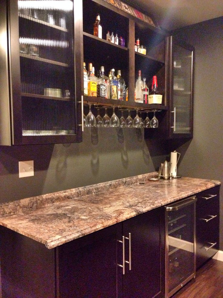 small attic man cave ideas - DIY bar in the man cave If only