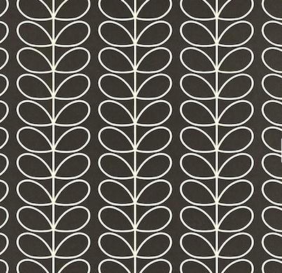 Magnifique collection de papiers peints Orla Kiely, des motifs colorés aux formes exagérées,  un graphisme aux accents seventies  , une collection vintage à découvrir absolument...