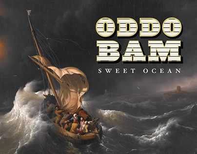"Check out new work on my @Behance portfolio: ""Oddo Bam - Sweet Ocean 