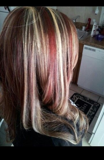 17 Best Images About Color On Pinterest Red Blonde