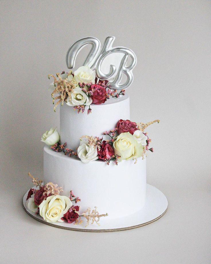 Pin auf . Свадебные торты